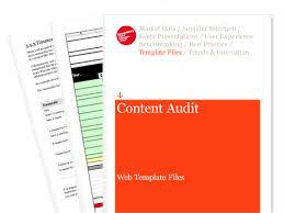 content audit web template files econsultancy