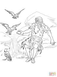 bible story elijah coloring page free printable coloring pages