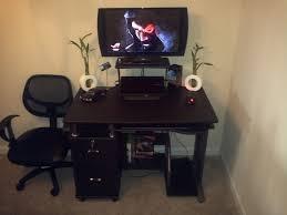 gaming corner desk my gaming corner gamingsetups