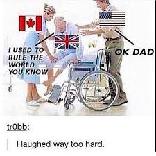 Merica Wheelchair Meme - just imagine canada and america from hetalia having this
