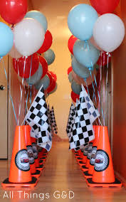birthday home decorations interior design creative car themed birthday decorations home