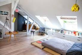 chambre dans comble chambre sous les toits