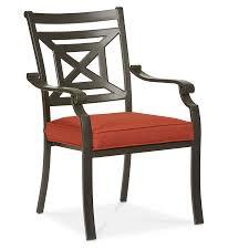 Deep Seat Patio Chair Cushions Chair Furniture Classic Outdoor Single Chair Cushion Sets Red