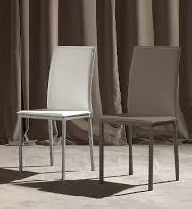 sedie la seggiola sedia lara 297 sedie ecopelle pelle sedute