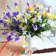 Orchid Bouquet Online Get Cheap Orchid Bouquet Wedding Aliexpress Com Alibaba