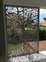 screen art privacy screens residential entrance http www