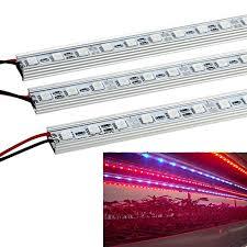 12v dc led grow lights lvjing 5pcs 0 5m strip 10w red blue light 36pcs 5050smd led