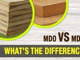 is mdf better than solid wood mdo vs mdf which is better for you