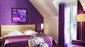 chambre violet aubergine einfach deco chambre violet et noir violette grise beige aubergine