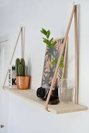 How To Make A Wood Shelving Unit by Best 25 Hanging Shelves Ideas On Pinterest Wall Hanging Shelves