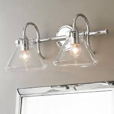 awesome vintage clear canning jar double sconce light farmhouse