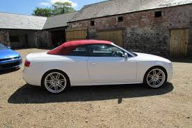 audi s5 convertible white used 2012 audi s5 for sale in county antrim pistonheads