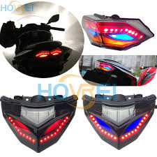 ninja 300 integrated tail light motorcycle led turn signals tail brake light case l integrated