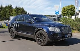 bentley 2016 2016 bentley bentayga suv spotted nearly camo free autoevolution