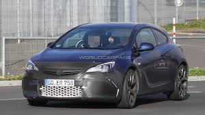 vauxhall usa 2012 opel astra opc spied with less camo