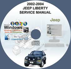 jeep liberty 2002 2004 service u0026 repair manual on cd 02 03 04