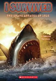 scholastic the first thanksgiving i survived the shark attacks of 1916 by lauren tarshis scholastic