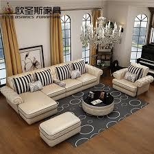 Corner Leather Sofa Oshines Furniture Factory Wholesale Royal Furniture Italian