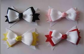ribbon hair clip ribbon bows sweet hair accessories baby hair bows baby
