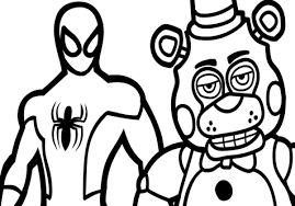 fnaf mangle coloring pages five nights at freddys coloring book eyeopening cff2207b6e6f