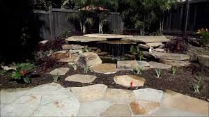 inspiring small backyard ponds and waterfalls images decoration