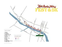 Austin Downtown Map by Keep Austin Weird Fest And 5k 2017 Street Closures Curbed Austin