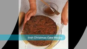 super irish christmas cake recipe youtube