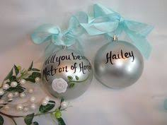 snowflake will you be my bridesmaid ornaments by sam designs www
