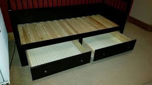 used ikea hemnes daybed black in gl1 gloucester for 130 00