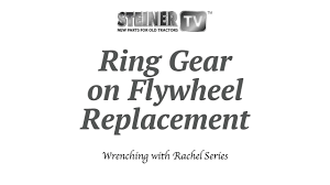 flywheel ring gear installation youtube