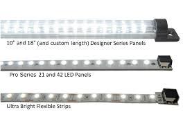 Led Lights Flexible Strip by Installing Lighting On A Glass Cabinet Inspiredled Blog