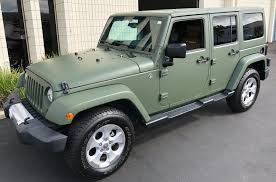 jeep wrangler military military green matte wrap jeep 12 custom vehicle wraps