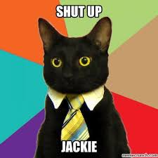 Jackie Meme - up jackie