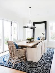 dining room chandelier size copy cat chic room redo breezy indigo dining room copycatchic