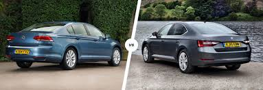 vw passat vs skoda superb compared carwow