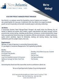 Contract Administration Job Description New Atlantic Contracting Inc Linkedin