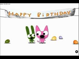 hoops and yoyo happy birthday song it s in my