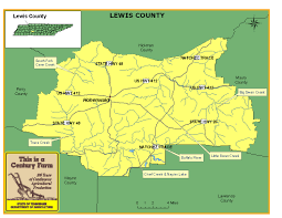 Tennessee Highway Map by Bledsoe County Tennessee Century Farms