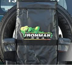Iron Man Awning 4x4 Extras Ironman Rear Wheel Bag