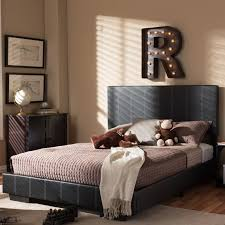 Full Double Bed Wholesale Interiors Baxton Studio Full Double Upholstered Platform