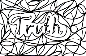 truth coloring pages telling the truth coloring pages galleryhip