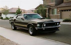 1969 Black Mustang 1969 Ford Mustang Mach 1 Fastback 71173