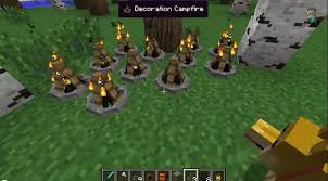 Minecraft Decoration Mod Camping Mod 1 11 2 1 10 2 1 9 4 Experiencing The Outdoors