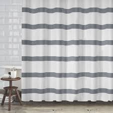 Hotel Quality Shower Curtains Hotel Quality Waffle Weave Stripe Fabric Shower Curtain 70 X72