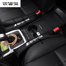 mercedes accessories store 2 pcs amg logo mobil kursi slot aksesoris interior mobil