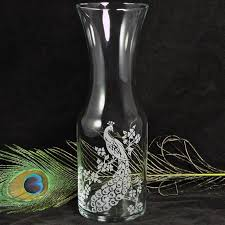 Sand Vases For Wedding Ceremony Peacock Wine Carafe Vase For Decor Or Unity Ceremony For Weddings