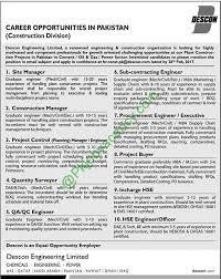 journalists jobs in pakistan airport security descon engineering pakistan latest projects jobs february 2017