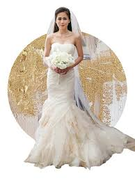 Wedding Dress Designers The Bride And The Dress 6 Celebrity Wedding Gowns To Love