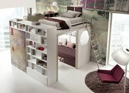 chambre mezzanine lit superposé 2 places concernant lit enfant mezzanine avec galerie