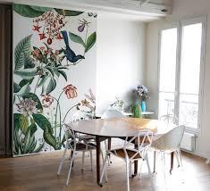 tapisserie salle a manger bahamas le nouveau papier peint floral signé bien fait frenchy